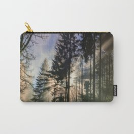 Sun Shinning Thru Trees Carry-All Pouch