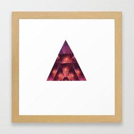 Space Trigon Framed Art Print