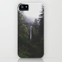 Latourell Falls, OR iPhone Case