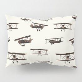 Retro airplanes Pillow Sham