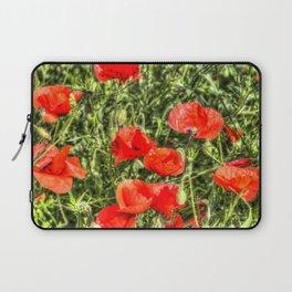Poppys Of Summer Laptop Sleeve