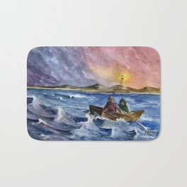 Storm Chased Bath Mat