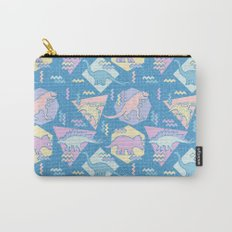 Nineties Dinosaurs Pattern  - Pastel version Carry-All Pouch