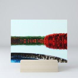 Horseshoe Dam - Scituate Reservoir Landscape by Jeanpaul Ferro Mini Art Print