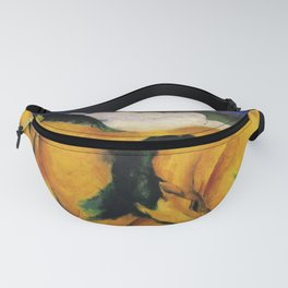 The Yellow Horses by Franz Marc Fanny Pack