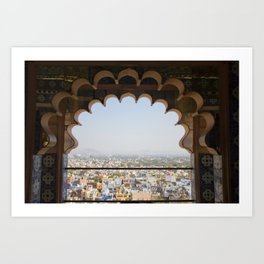 City Views from the City Palace Art Print