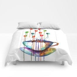 Coffee Splash Comforters