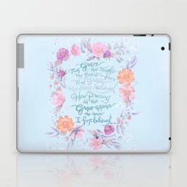 Amazing Grace - Hymn Laptop & iPad Skin