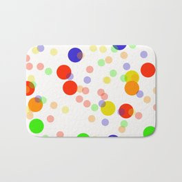 Colorful Seamless pattern Bath Mat