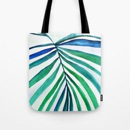Macro palm leaf Tote Bag