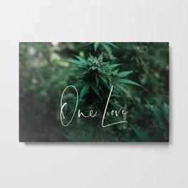 One Love Metal Print