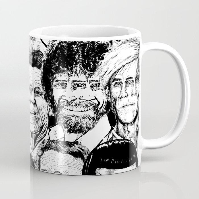 Dead Celebrities Coffee Mug