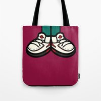 air jordan Tote Bags featuring AIR JORDAN 2 by originalitypieces