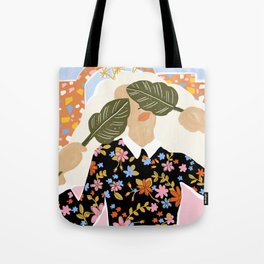 I Can't See You Tote Bag