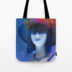 Ms Red White And Blue Tote Bag