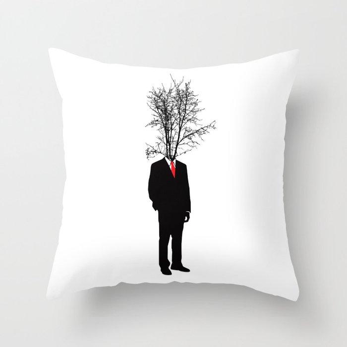 Stick Man Throw Pillow By Studio566 Society6