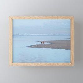 Doggy Heaven Framed Mini Art Print