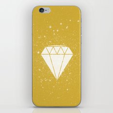 Space Diamond (gold) iPhone & iPod Skin