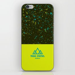 Trail Status / Green iPhone Skin