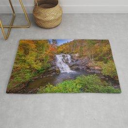 Waterfall Landscape Rug