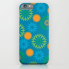 Spikey Flower Calm Slim Case iPhone 6s