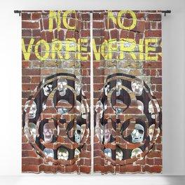 NO WORRIES 01 Blackout Curtain