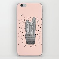cactus iPhone & iPod Skins featuring CACTUS  by Vasare Nar