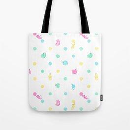 Sloth Dot Tote Bag