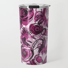 Roosters and Roses SC Travel Mug