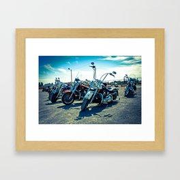 Biker's Meeting, El Paso - EPBM03 Framed Art Print