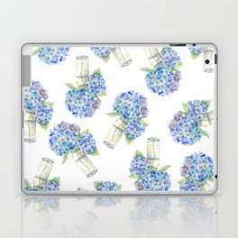 Blue Hydrangea, Still Life Laptop & iPad Skin