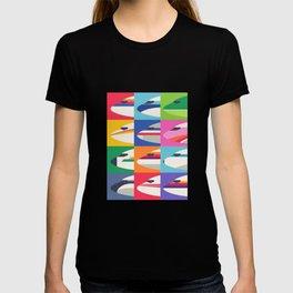 Retro Airline Nose Livery - USA T-shirt