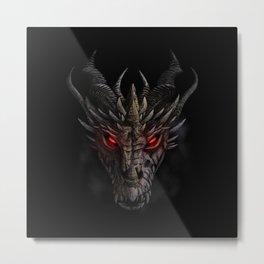 Red eyed dragon Metal Print