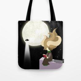Hila and the moon Tote Bag