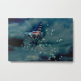 Let's Remember July 4th Metal Print