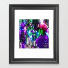 g r e e n p a r a d e Framed Art Print