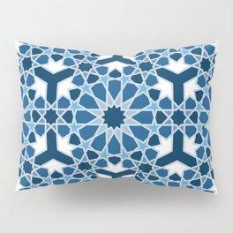 Lace Classic Blue classic islamic pattern Pillow Sham