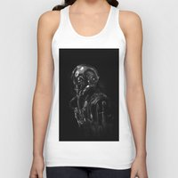 pilot Tank Tops featuring Pilot 01 by Rafal Rola