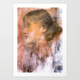 Dead girls: Virginia Woolf Art Print