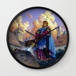 King Arthur Wall Clock