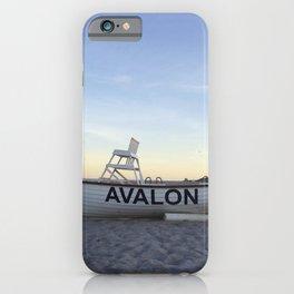 Avalon, NJ iPhone Case