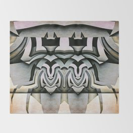 King And Queen Of The Insect World Throw Blanket