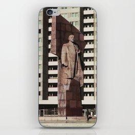 East berlin Lenin Statue iPhone Skin