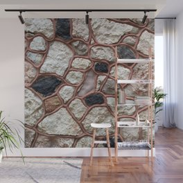 Stone Design Wall Mural