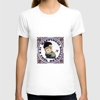 johnlock T-shirts featuring Happiness Is A Cool Detective by Marlowinc