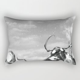 Ladybug Wizard Rectangular Pillow