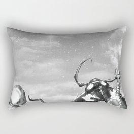 Ladybug Wizard Rectangular Pillow