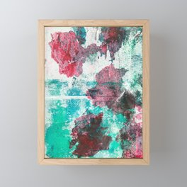 Heliotrope Textures 3 Framed Mini Art Print