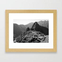 Machu Picchu v.2 Framed Art Print