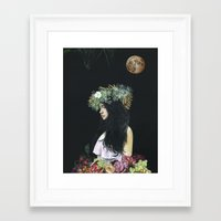 serenity Framed Art Prints featuring Serenity by Melissa Hartley